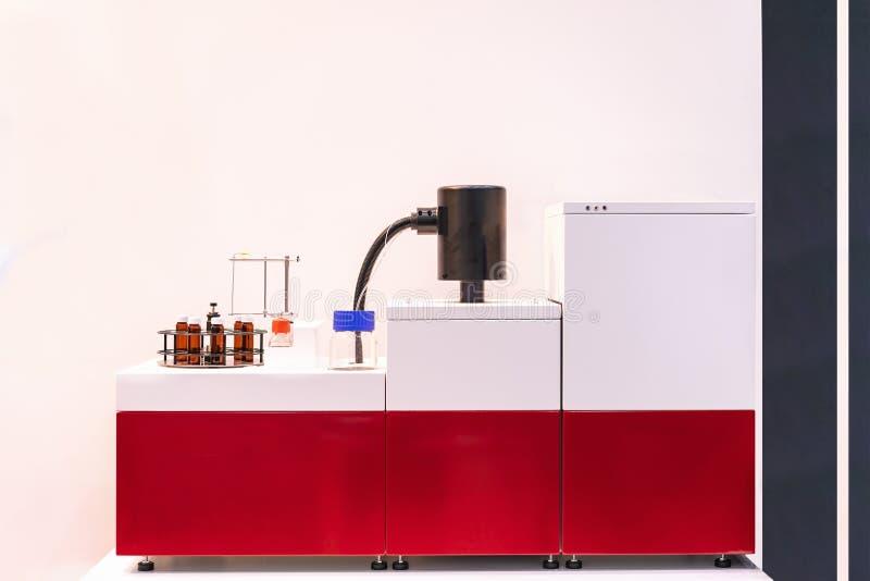 Geavanceerde geavanceerd technisch en het automatische meetapparaat van de de Vertragingsanalyse van de brandstofontsteking voor  stock fotografie