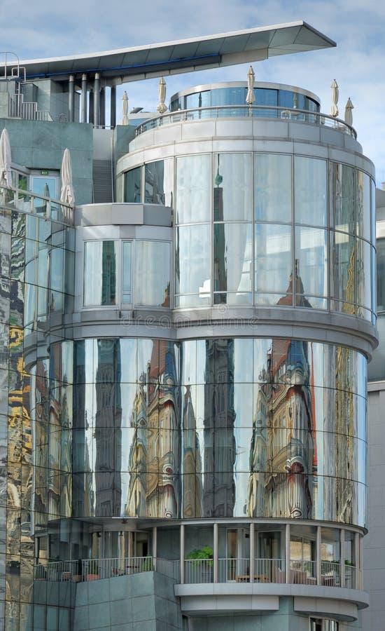 Gebäude. stockbild