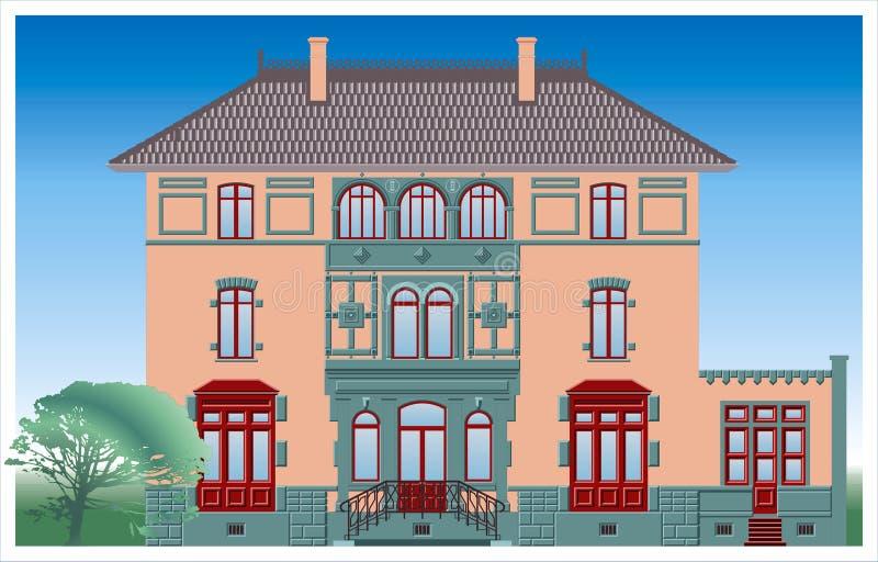 Gebäude lizenzfreie abbildung
