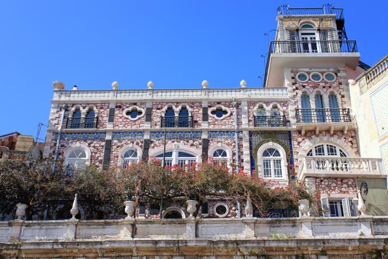 Gebäude in Alfama, Portugal stockfotografie