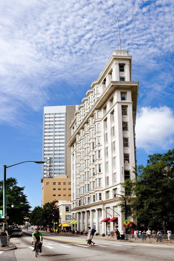 Gebäude Atlanta-Flatiron stockfoto