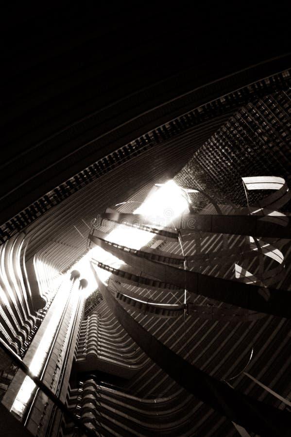 Gebäude-Atrium lizenzfreies stockbild