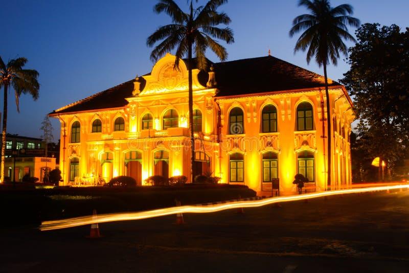 Gebäude Chao Abhaibhubejhr lizenzfreies stockbild