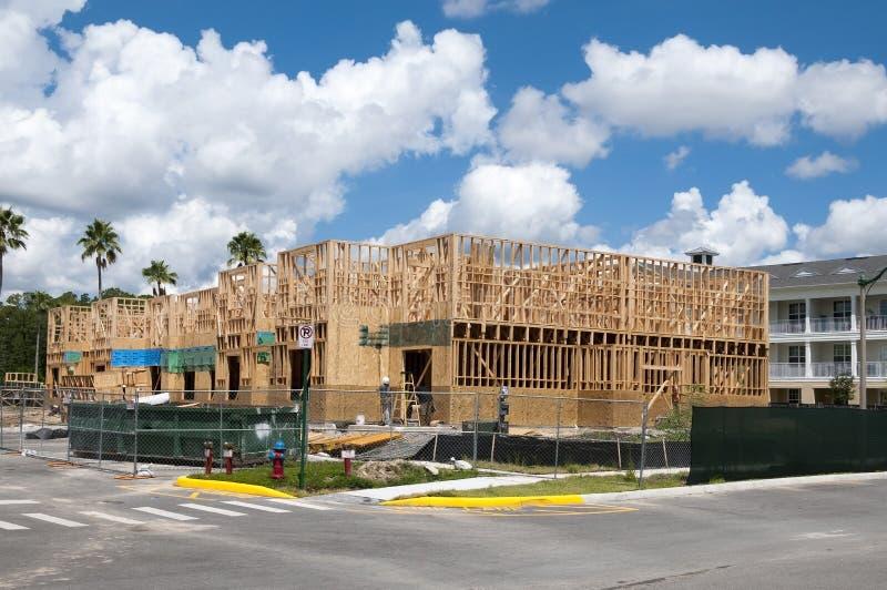 Gebäude construction2 stockfotografie
