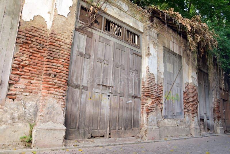 Gebäude in der alten Stadt von Semarang Kota Lama Semarang in Jawa Tengah stockfotos