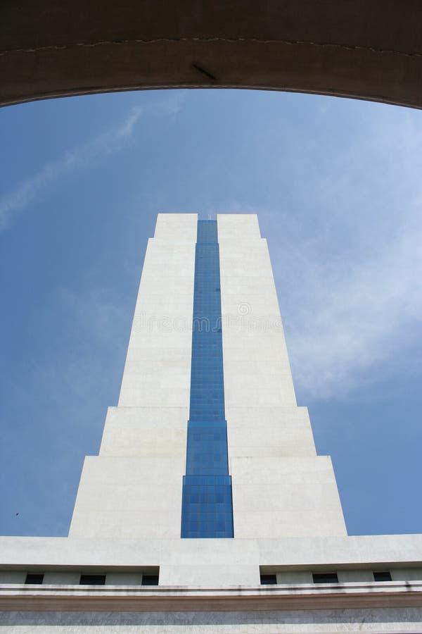 Gebäude der Annahme-Universität stockbilder