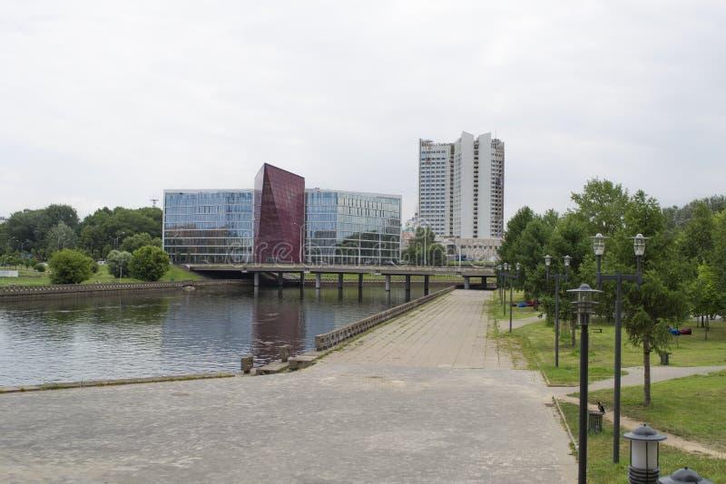 Gebäude der belarussischen Pottaschefirma lizenzfreie stockfotos