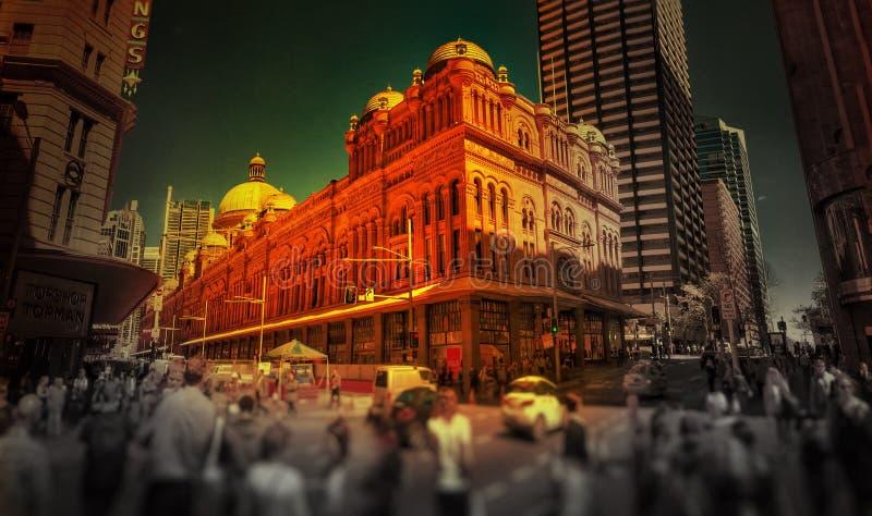 Gebäude der Königin-Victoria lizenzfreie stockbilder