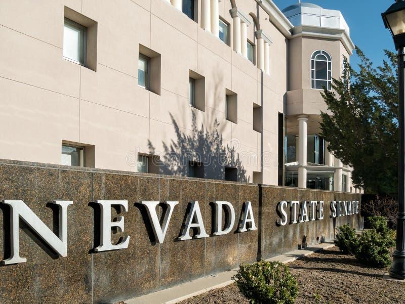 Gebäude der staatlichen Gesetzgebung, Carson City, Nevada lizenzfreies stockbild