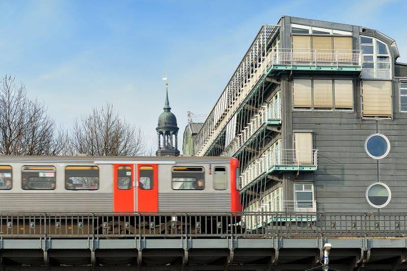 Gebäude des Gruner + des Jahr, die in Hamburg, Deutschland Franc veröffentlichen stockfotos