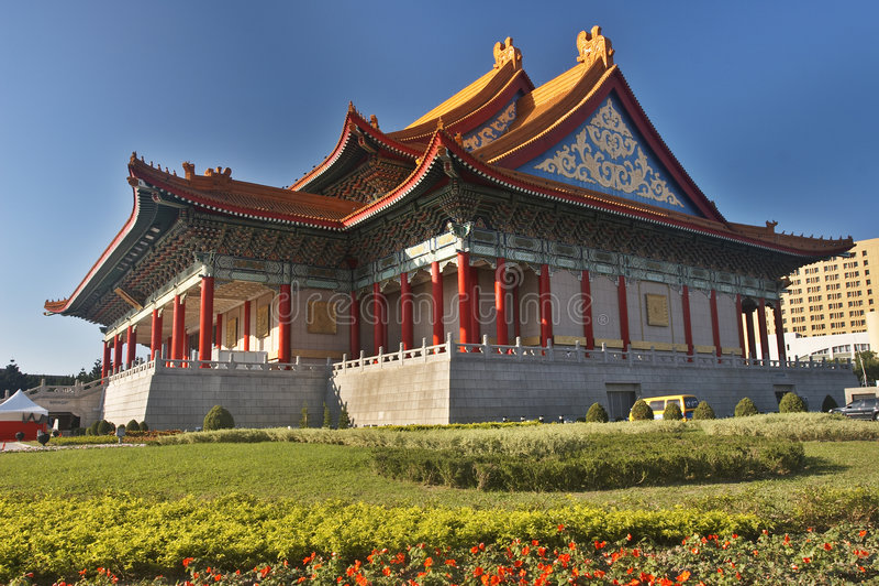 Gebäude des traditionellen Chinesen lizenzfreie stockbilder