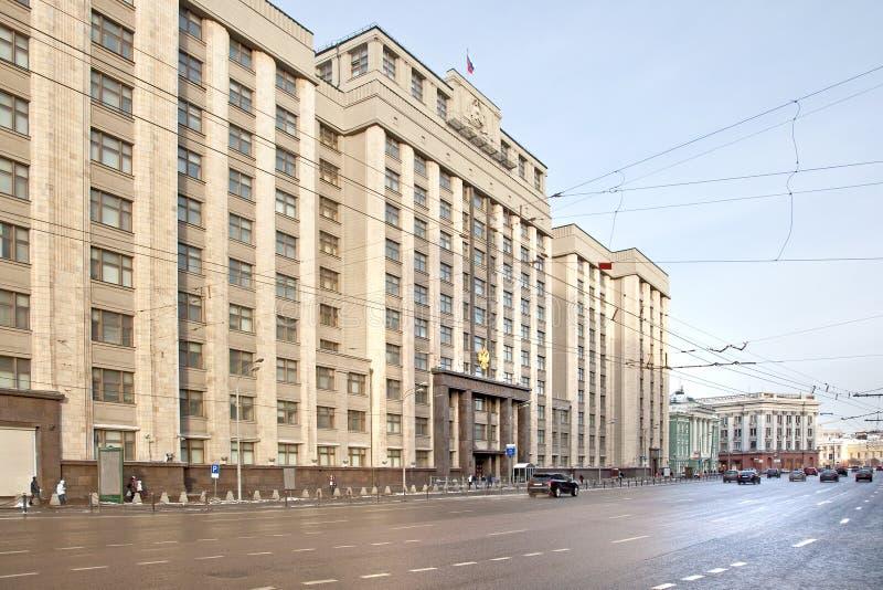 Gebäude des Zustand-Duma stockfotografie