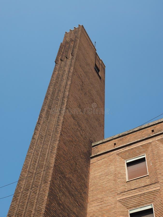 Gebäude Dogane (Gewohnheiten) in Mailand stockbilder