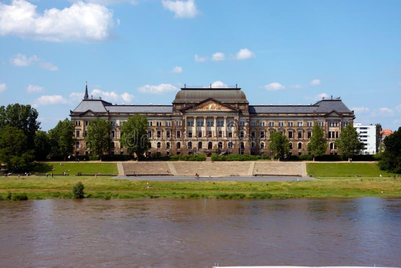 Gebäude in Dresden stockfoto