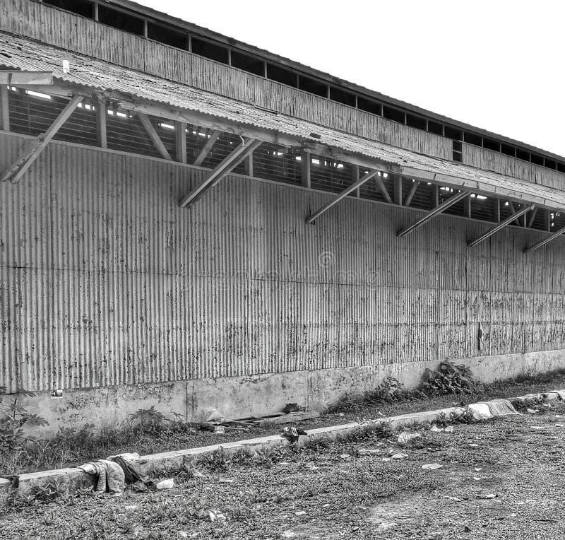 Gebäude für paranormale Tätigkeit stockbild