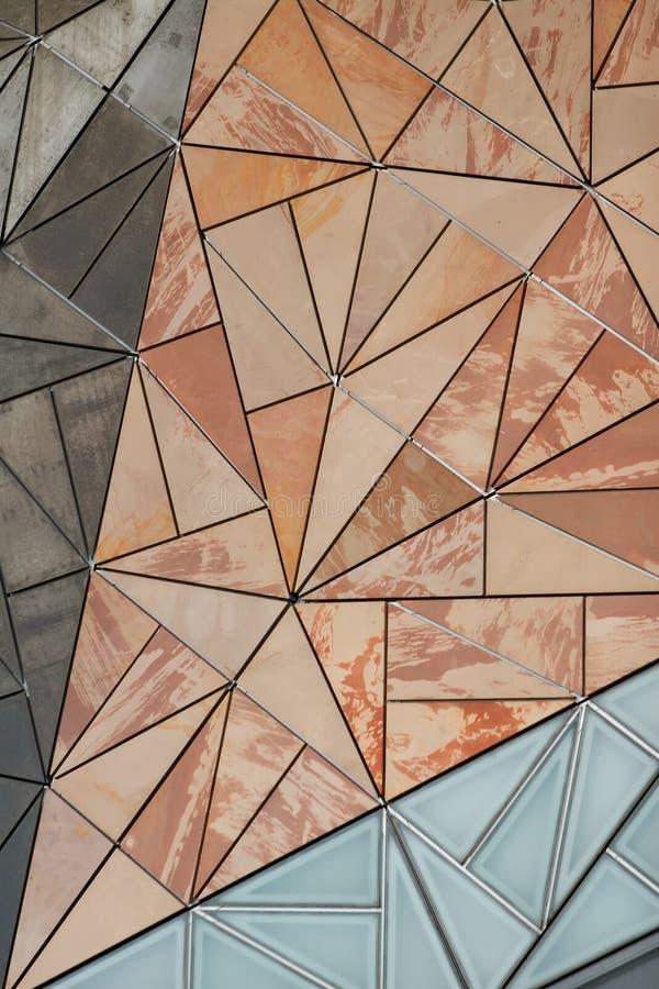 Gebäude-Fassade-Muster lizenzfreies stockbild