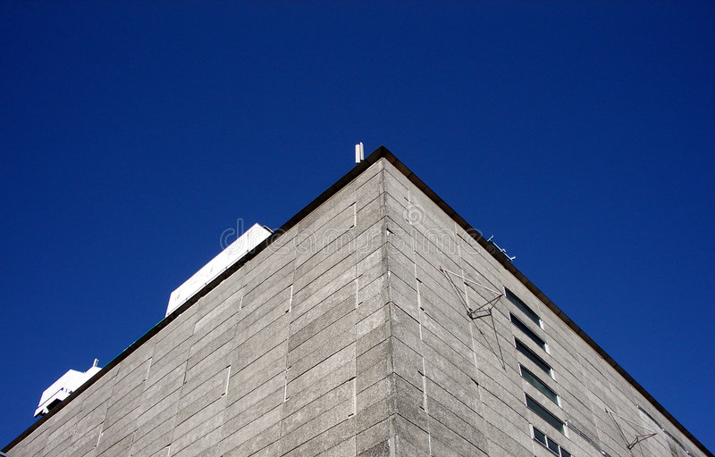 Gebäude in Ilford 9 lizenzfreies stockbild