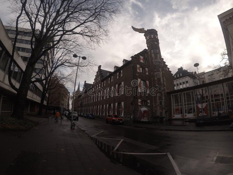 Gebäude in Köln lizenzfreie stockbilder