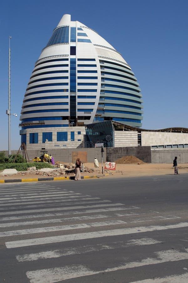 Gebäude in Khartoum lizenzfreie stockfotos