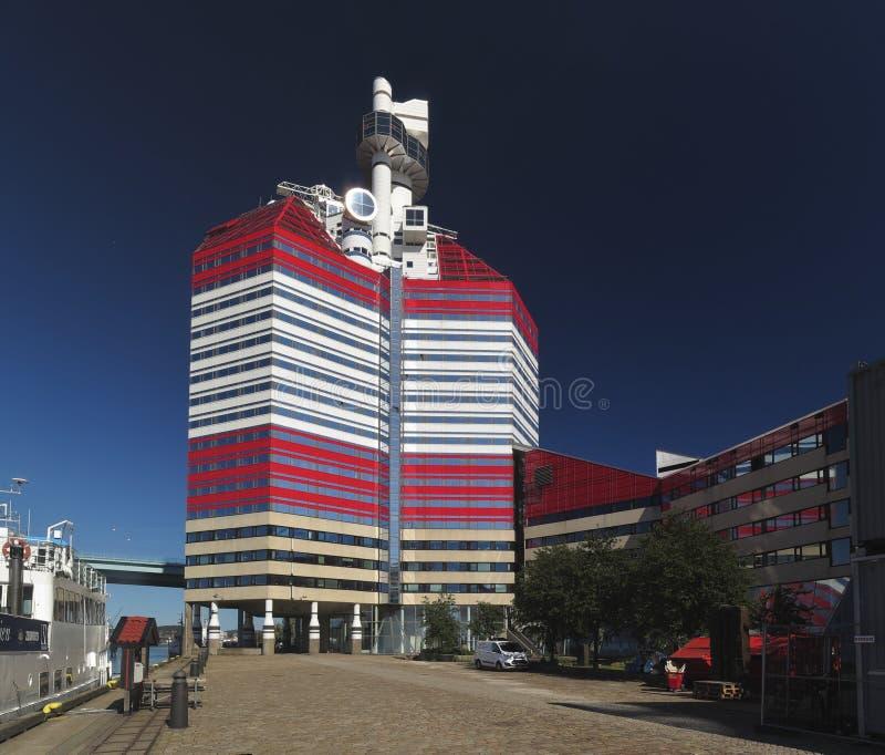 Gebäude Lilla Bommen in Goteborg stockbilder