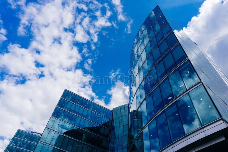 Gebäude in London Großbritannien stockbilder