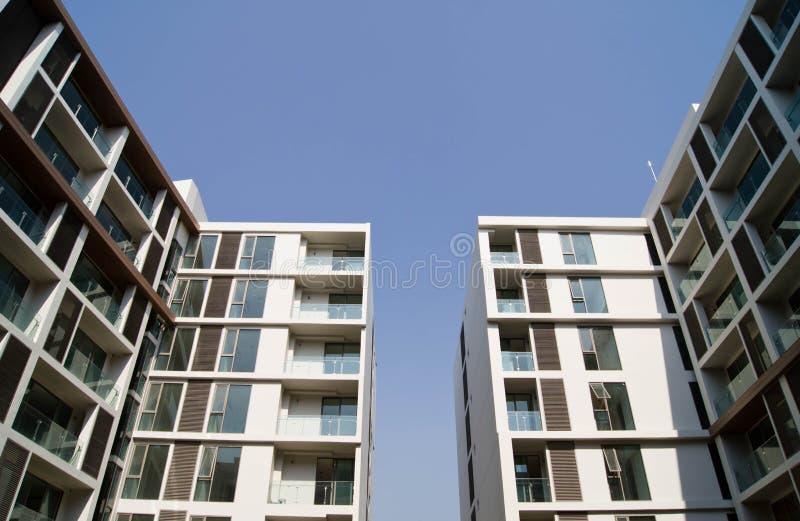 Gebäude-Morgenlicht großartige großartige Ansichten stockfotos