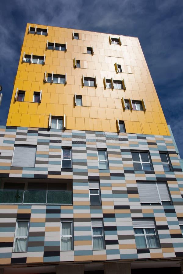 Gebäude in Salburua, Vitoria lizenzfreie stockbilder