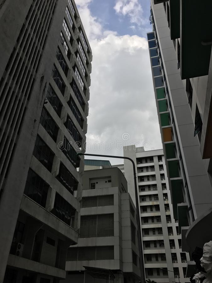Gebäude @SiPH stockfotos