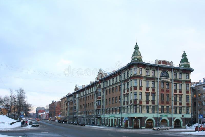 Download Gebäude in St Petersburg stockfoto. Bild von stadt, wand - 26353140