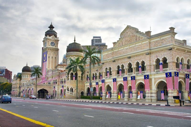 Gebäude Sultan-Abdul-Samad. stockfotografie