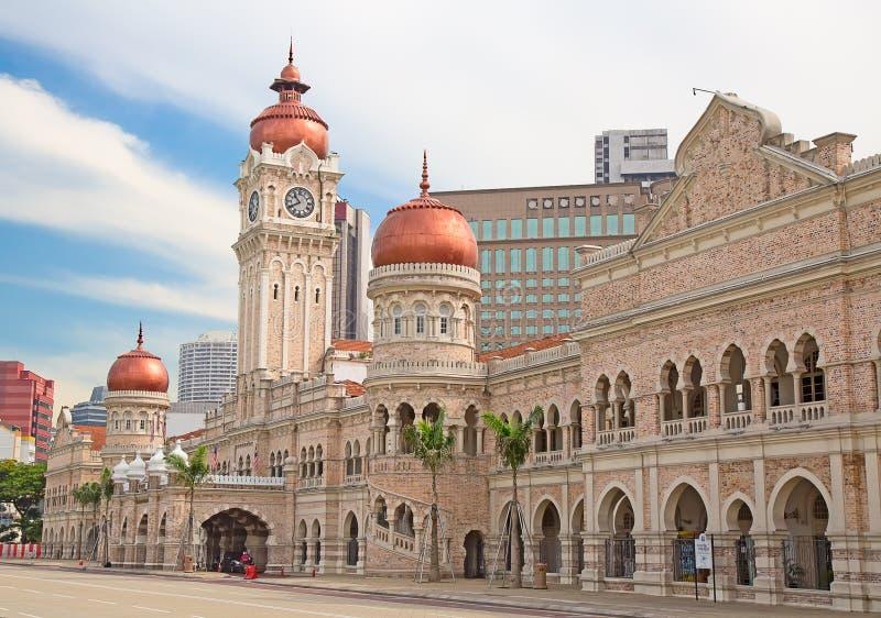 Gebäude Sultan-Abdul-Samad lizenzfreies stockfoto