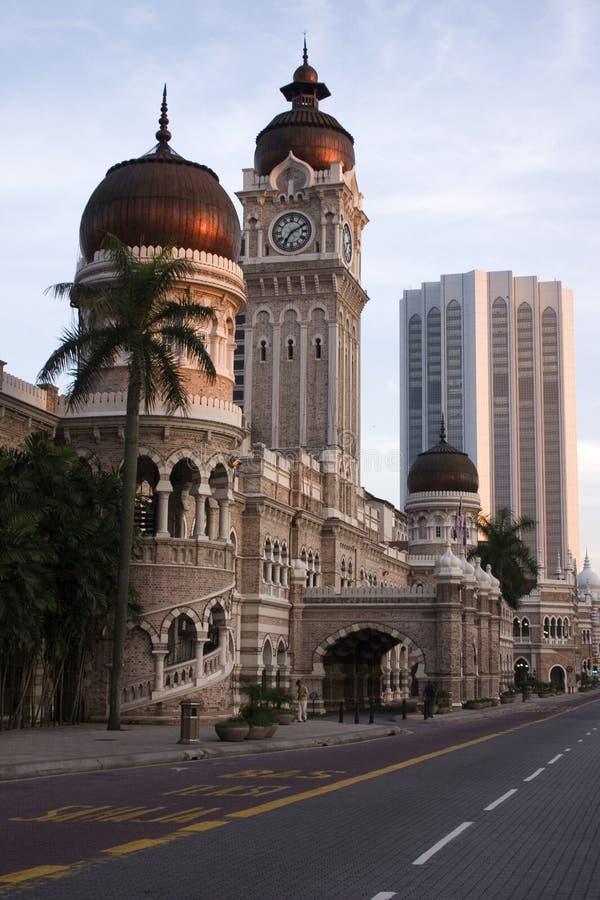 Gebäude Sultan-Abdul-Samad lizenzfreie stockbilder