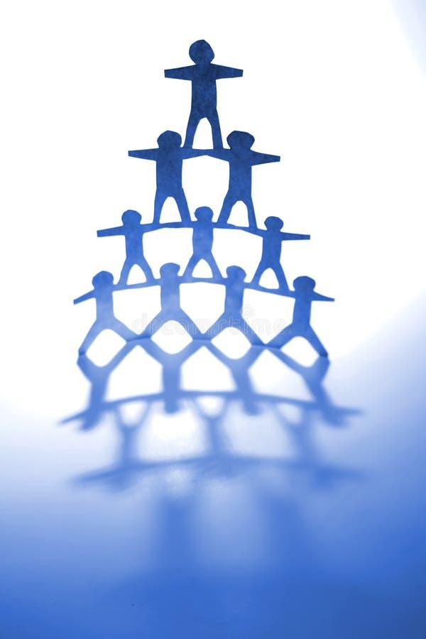 Gebäude-Teamwork stockbilder