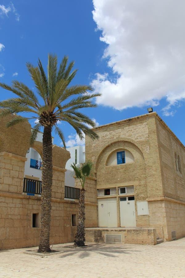 Gebäude in Tunesien stockbilder