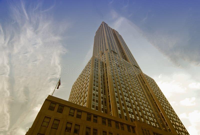 Gebäude von New York City lizenzfreie stockbilder