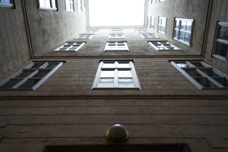 Gebäude in Wien stockfotografie