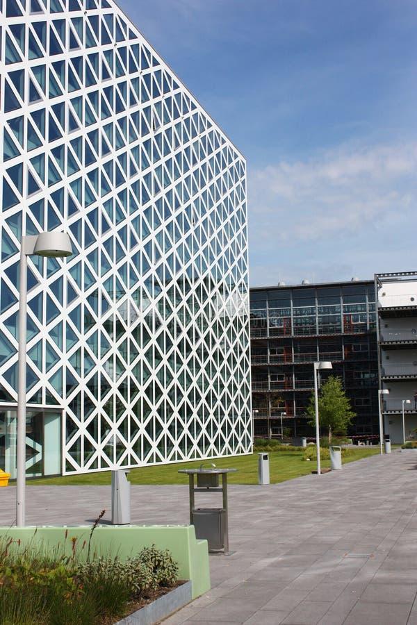 Gebäude X in Windesheim Campus lizenzfreies stockfoto