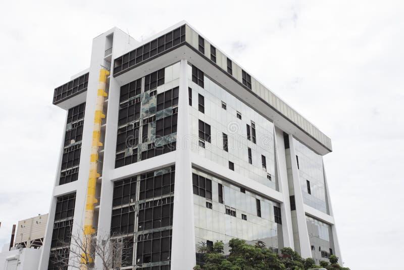 Gebäude zerstört lizenzfreie stockfotos