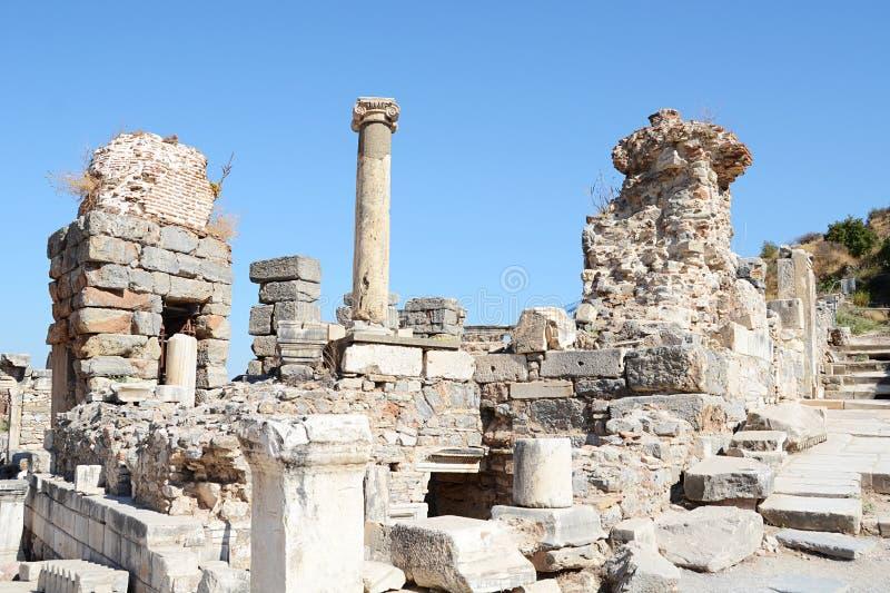 Download Gebäudedetail In Ephesus (Efes) Stockfoto - Bild von zieleinheit, geschichte: 27728448