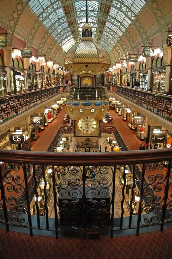 Gebäudeinnenraum der Königin-Victoria lizenzfreies stockbild