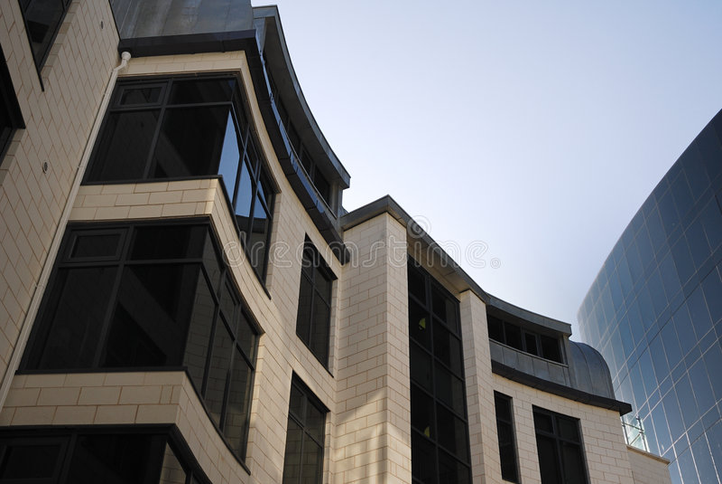 Gebäudekurven stockfoto