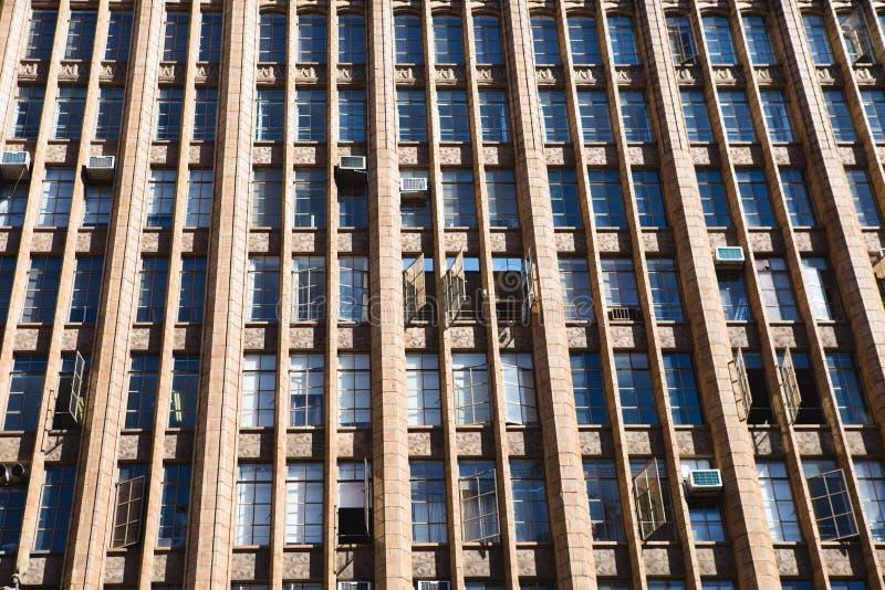 Gebäudemuster stockfotografie
