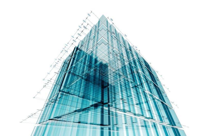 Gebäudetechnik lizenzfreie abbildung