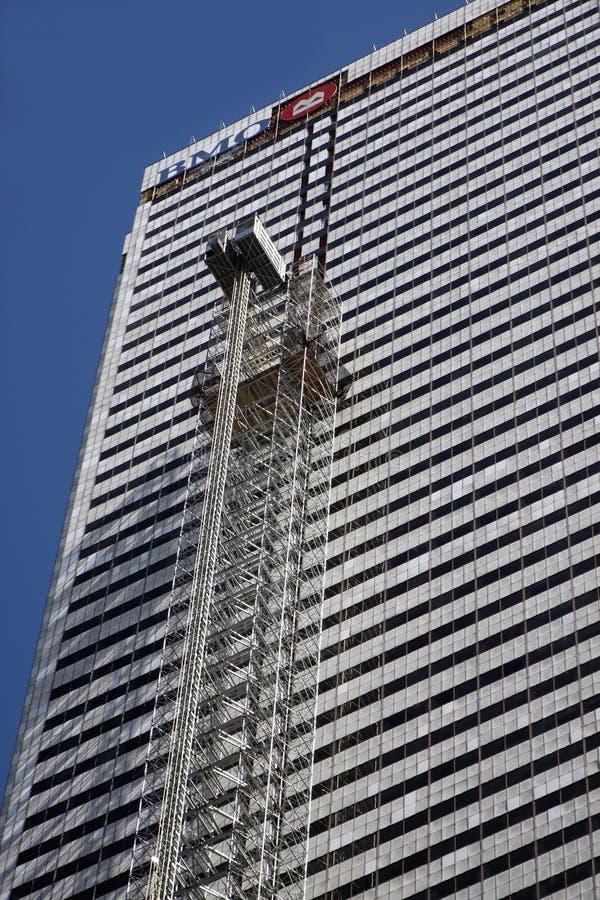 Gebäudewiederherstellung stockfoto