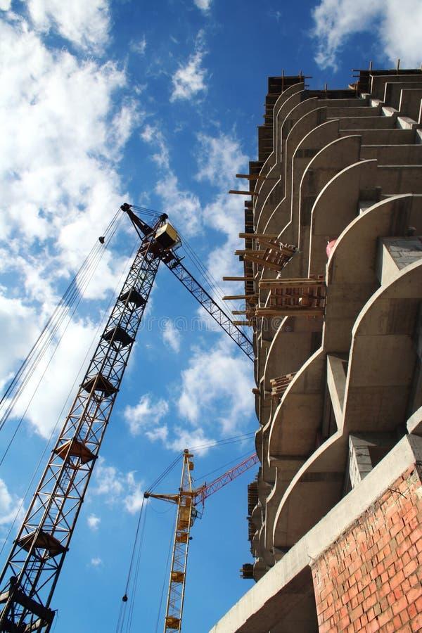 Gebäudewohnung lizenzfreie stockfotografie