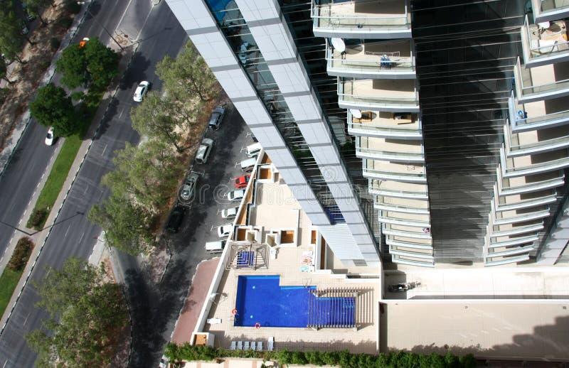 Gebäudewohnung lizenzfreies stockfoto