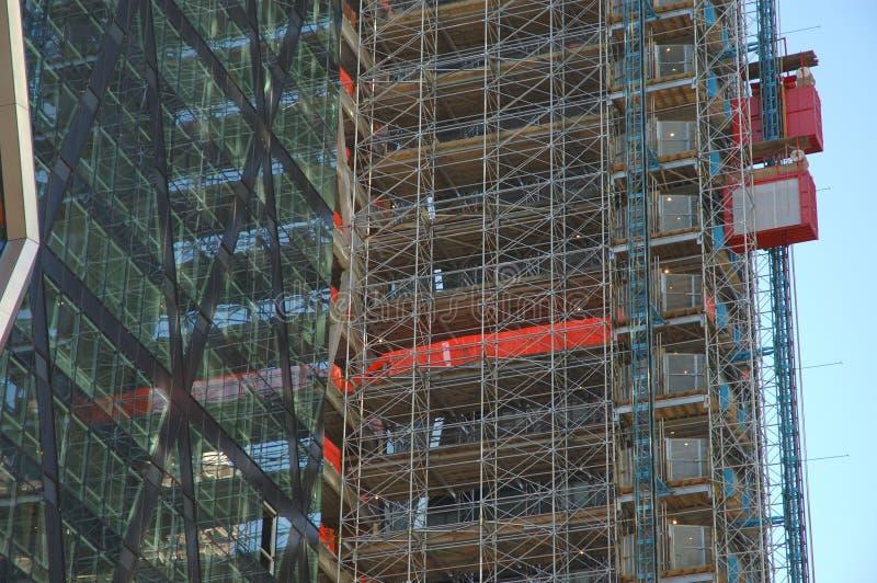 Gebäudewolkenkratzer stockfotografie