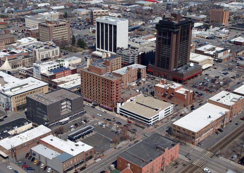 Gebührenzählungs-Montana-Antenne lizenzfreies stockfoto