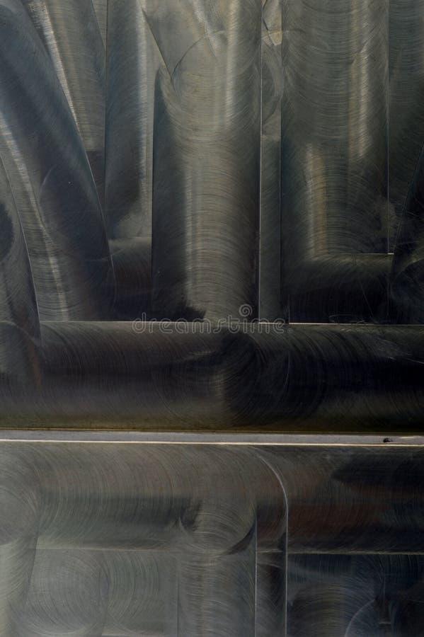 Gebürsteter Metallbeschaffenheits-Zusammenfassungshintergrund lizenzfreies stockbild