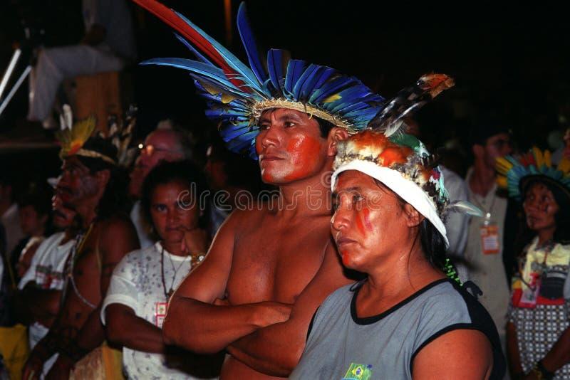 Gebürtiger Inder von Brasilien stockfotos